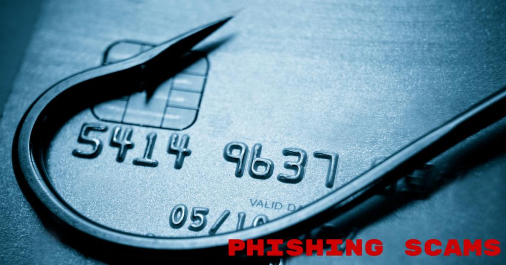 image of phishing scam