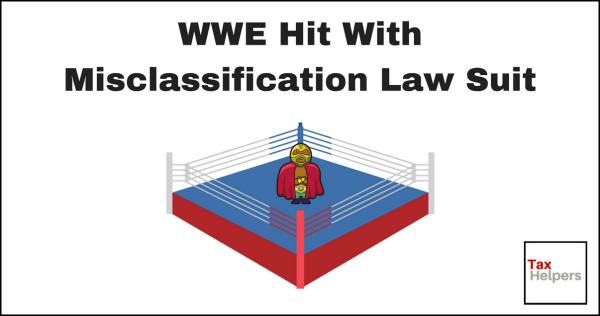 Wrestler in ring