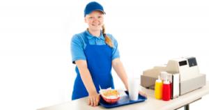 Teenage Cashier