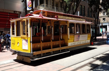 A San Francisco Trolley Car